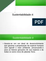Meio Amb. e Socie. - Sustentabilidade