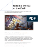 Understanding the SC Ruling on the DAP