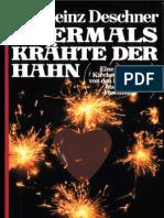 Deschner Karheinz Abermals Kraehte Der Hahn