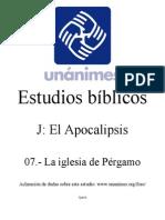 J.07.- La Iglesia de Pergamo