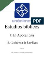 J.11.- La Iglesia de Laodicea