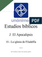 J.10.- La Iglesia de Filadelfia