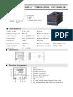Controlador de Temp. DHC1T-DR