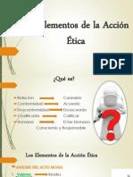 Los Elementos de La Acción Ética