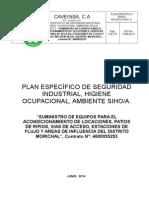 Plan Especifico de Morichal Caveinsa, c. a Nueva Norma (Reparado)