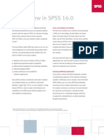 What's new in SPSS 16.0