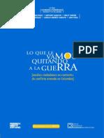 Medios Ciudadanos y Conflicto Armado en Colombia