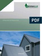 FORMASUR, Catalogo de Planchas de Zinc