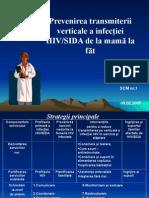 Prevenirea Transmiterii Verticale a Infectiei HIV-SIDA - I. Bologan