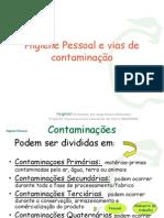 Higiene e Contaminantes Alimentos