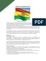 Historia de La Bandera de Bolivia