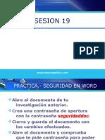 SESION 19
