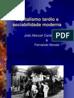Capitalismo e Sociabilidade Moderna No Brasil - João Manoel Cardoso de Mello e Fernando Novaes
