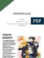 Hipervinculos Anime