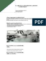 Gestion Del Aire en La Ciudades de La Region