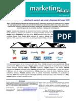 MKT Data Liderazgo Productos Cuidado Personal y Limpieza Hogar 2008[1]