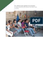 01-09-14 mimorelia Brindan capacitación a alfareros para suprimir el uso de plomo