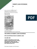 The Works of Robert Louis Stevenson - Swanston EditionVol. 1 (of 25) by Stevenson, Robert Louis, 1850-1894