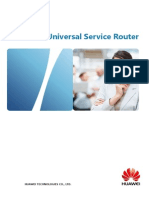 Huawei NE40E Universal Service Router Product Brochure
