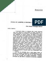 Culpa Do Agente e Certeza Do Direito_Giuseppe Bettiol