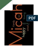 Micah's Wordle