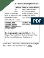 SS Fabulous Facts 1 Regions