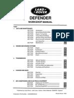 Defender Workshop Manual (1993)