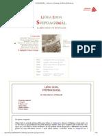 SVIPDAGSMÁL - Il Discorso Di Svipdagr __ Bifröst _ Biblioteca _