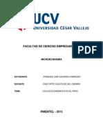 Ciclos Económicos en El Perú