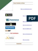 Herramienta de E-commerce