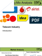 Marketing mix of telecom services