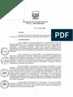 RESOLUCIÓN DE CONSEJO DIRECTIVO N° 032-2014-OEFA-CD Monitoreo Participativo