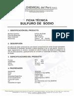 Sulfuro de Sodio - Royal Chemical Del Peru Sac