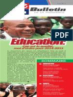 Le Bulletin (Août 2014)