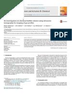 Ultrasonic Tomography Gas Profiles