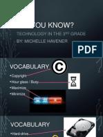 3rd grade technology