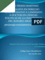 Derecho Disicplinario 1
