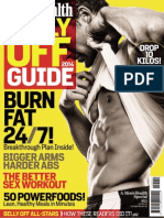 Men's Health Belly Off Guide - 2014