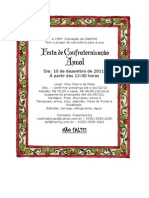 Convite Festa de Natal 3
