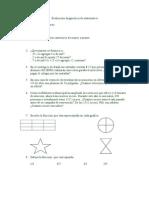Evaluación Diagnóstica de Matemática4