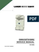 Ricoh AP3800 Full Service Manual