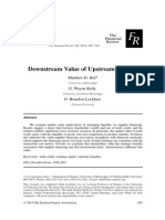 downstream value of upstream finance -- hill kelly lockhart -- 2013