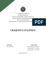 CRAQUEO CATALITICO