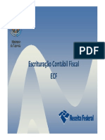 Palestra RFB - ECF