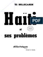 Bellegarde- Haiti Et Ses Problemes