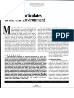 1.Airborner Particulates in the or Environment