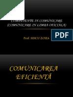 0 Comunicare in Limba Oficiala