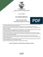 Vunesp 2014 Tj Pa Analista Judiciario Economia Prova