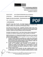 Indecopi-jurisprudencia Uso de Jerga Peruana en Marcas