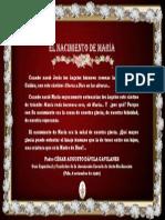 P. Dávila (El Nacimiento de María)